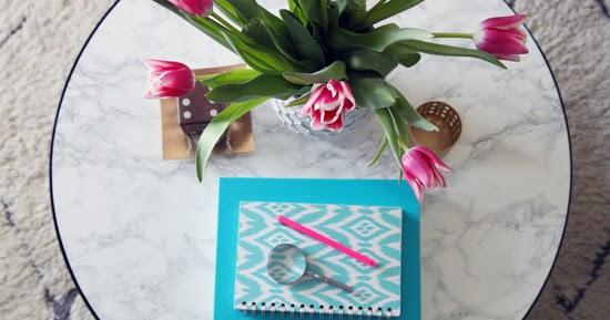 Decoraci n f cil como crear una mesa lowcost con efecto for Como se hace el marmol