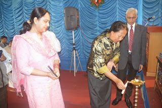 Chief Secretary Government of Sikkim Smt R Ongmu
