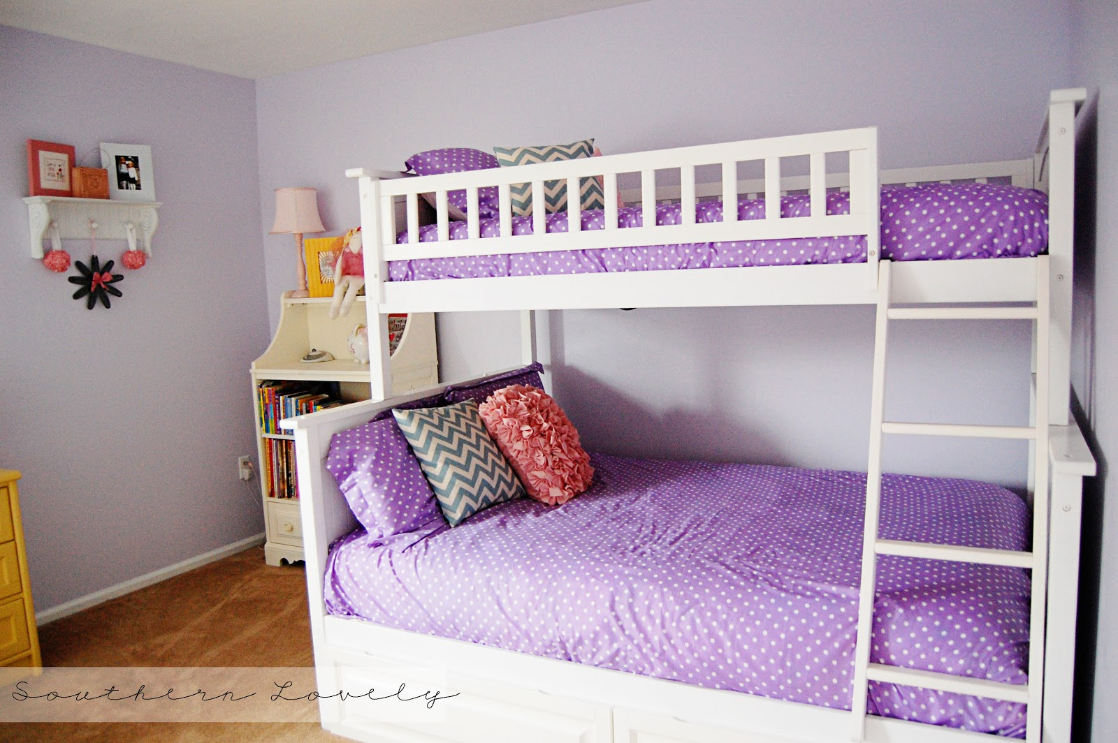 Pretty beds for girls discosparadiso for Girls bedroom decorating ideas with bunk beds
