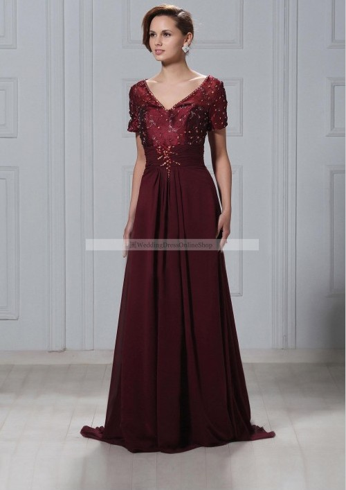 Winter Mother Of The Bride Dresses Uk 79