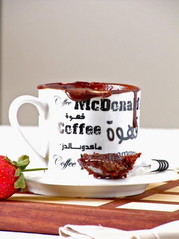 Nutella Lava Mug Cake Recipe By Plateful