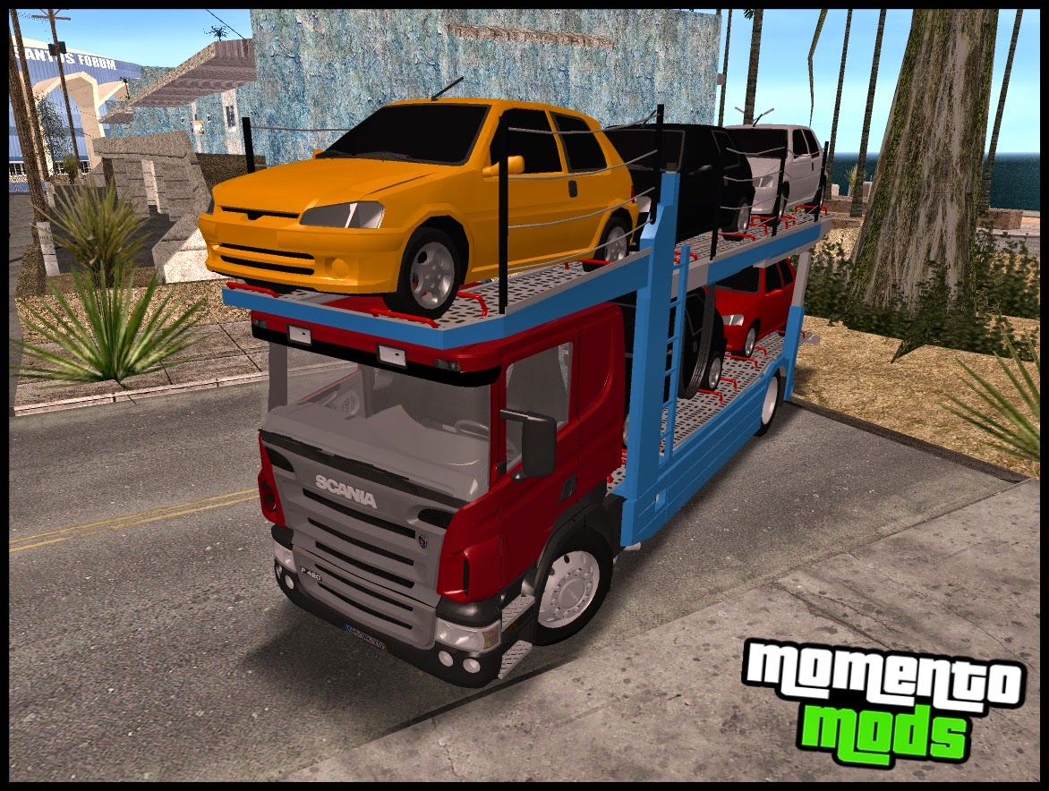 GTA SA - Scania P420 CT