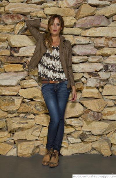 Vov Jeans Moda otoño invierno 2012. Camperas invierno 2012