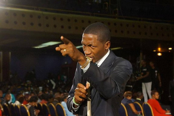 Uebert Angel is the founder of Spirit Embassy church and commands a large following in Zimbabwe