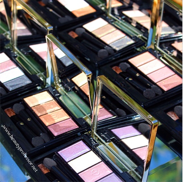 clé de peau eyeshadow quads fall 2014 collection