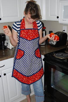 Custom Retro Aprons