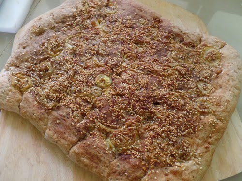 Persian Flatbread or Nan e Barbari