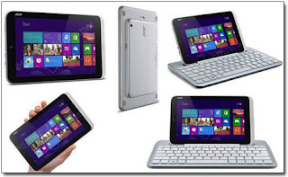 Iconia W3 весит 540 граммов; толщина устройства составляет 1,35 сантиметра.