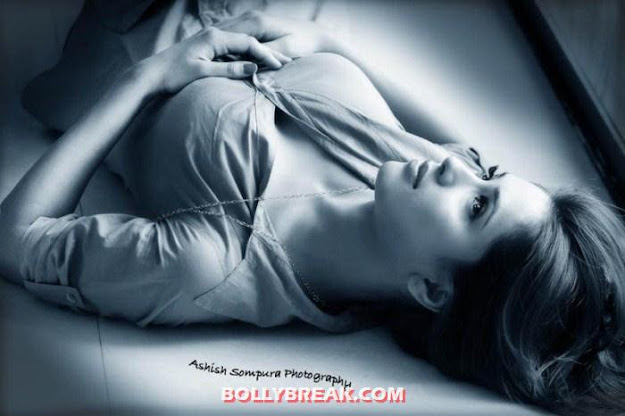 Dipa shah lying on bed - (2) - Dipa Shah Hot Photo Shoot -1
