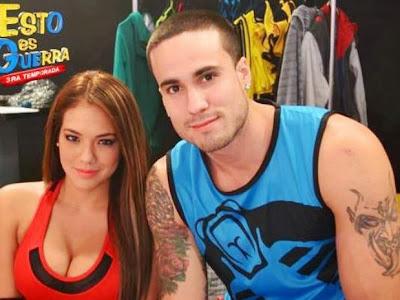 Gino Assereto y Jazmín Pinedo