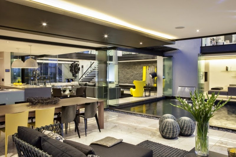 Home Interior With Modern Furniture
