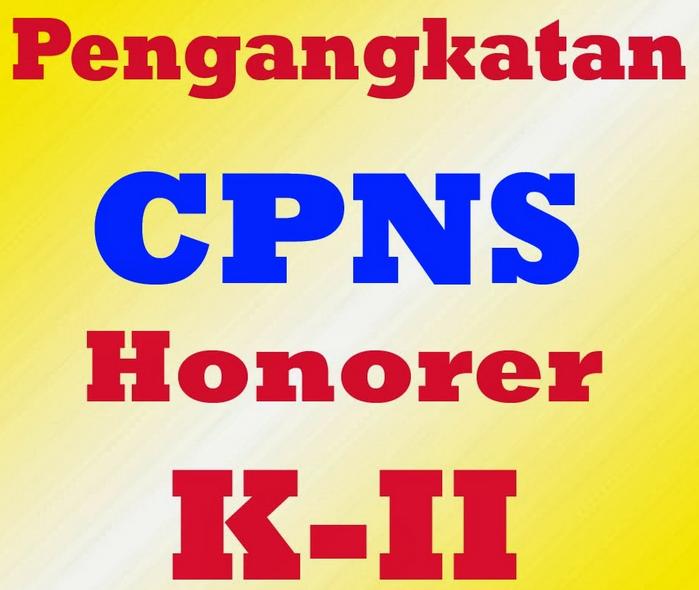 Penetapan NIP CPNS Honorer K2 Lulus CPNS 2013-12014