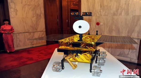 China Akan Kirim Robot ke Bulan di Desember ini