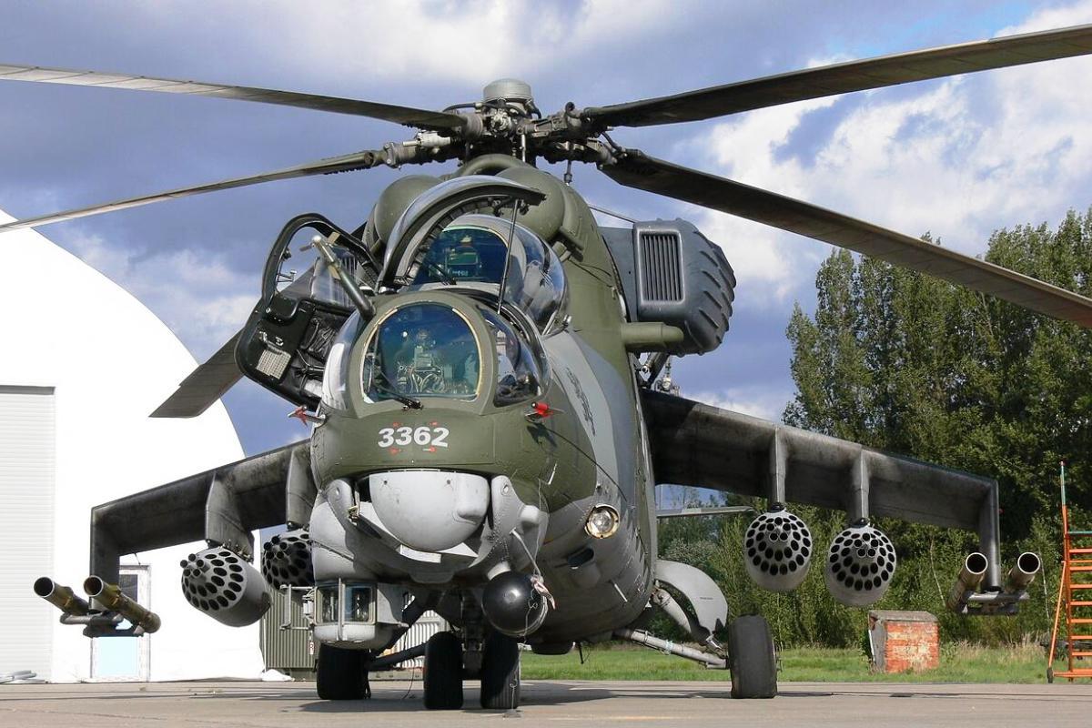 Mil Mi-35 (Foto 1). PROKIMAL ONLINE Kotabumi Lampung Utara