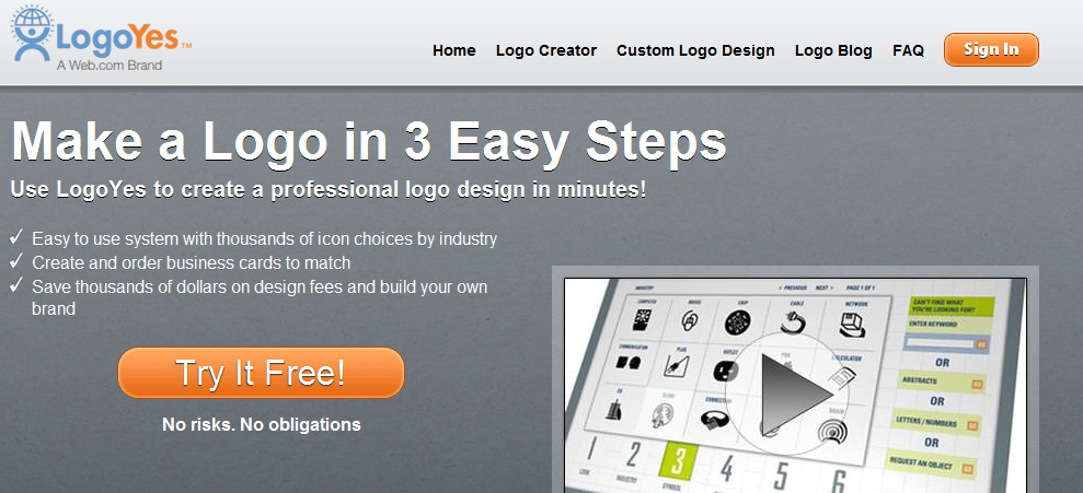 10 best free sites to create logo online free techflashed for Draw your own logo free