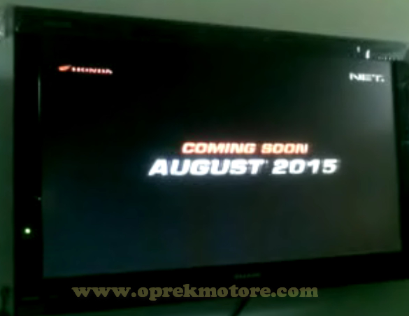 Bukti Teaser All New CB150R Sudah Tayang di TV