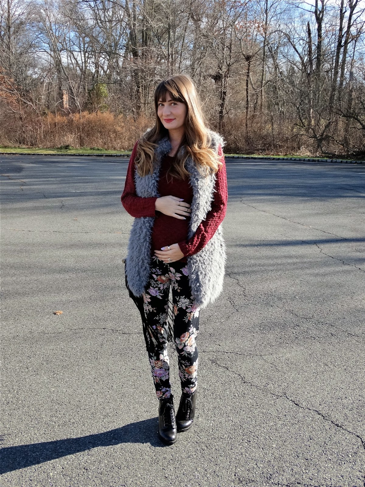 Maternity Style - Dressing your bump for winter months   House Of Jeffers   www.houseofjeffers.com