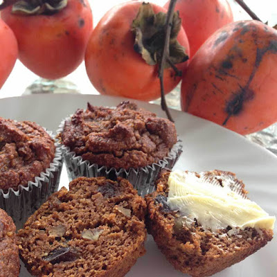 persimmon muffins recipe