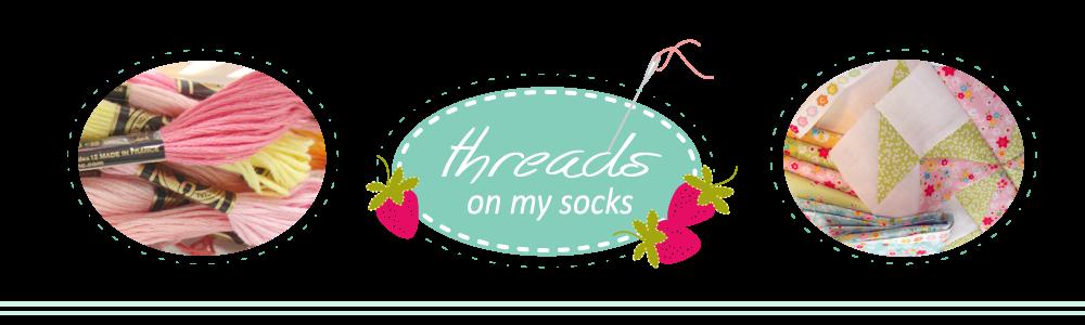threads on my socks
