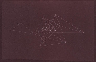 Diagram 5, 2011, Cameraless salt print,  6 x 9 in