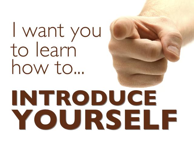 memperkenalkan diri dalam bahasa inggris untuk memperkenalkan diri