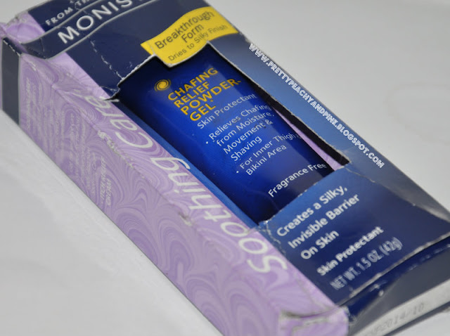 MONISTAT ANTI CHAFING GEL AS A PRIMER