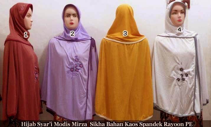 Tampil Stylish dengan Hijab Syar'i modis