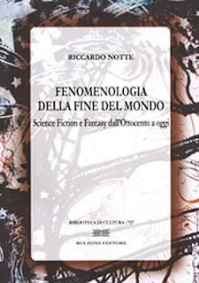 Fenomenologia della fine del mondo, 2012, copertina