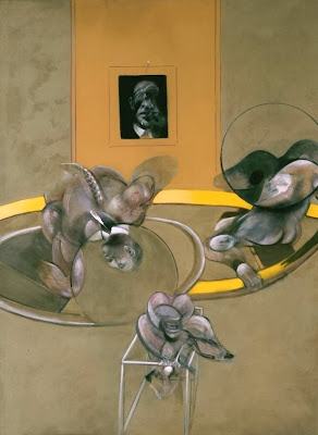 Francis Bacon - Three figures and portrait,1975.
