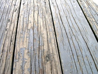 color me home by repcolite peeling paint on a deck