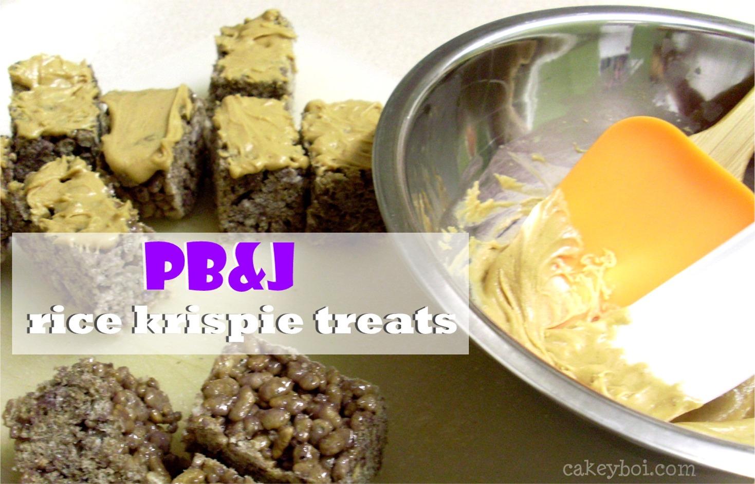 PB&J Rice Krispies