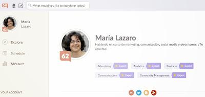 klout Maria Lazaro