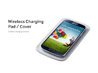 Samsung Galaxy S4 Wireless Charging Pad / Cover