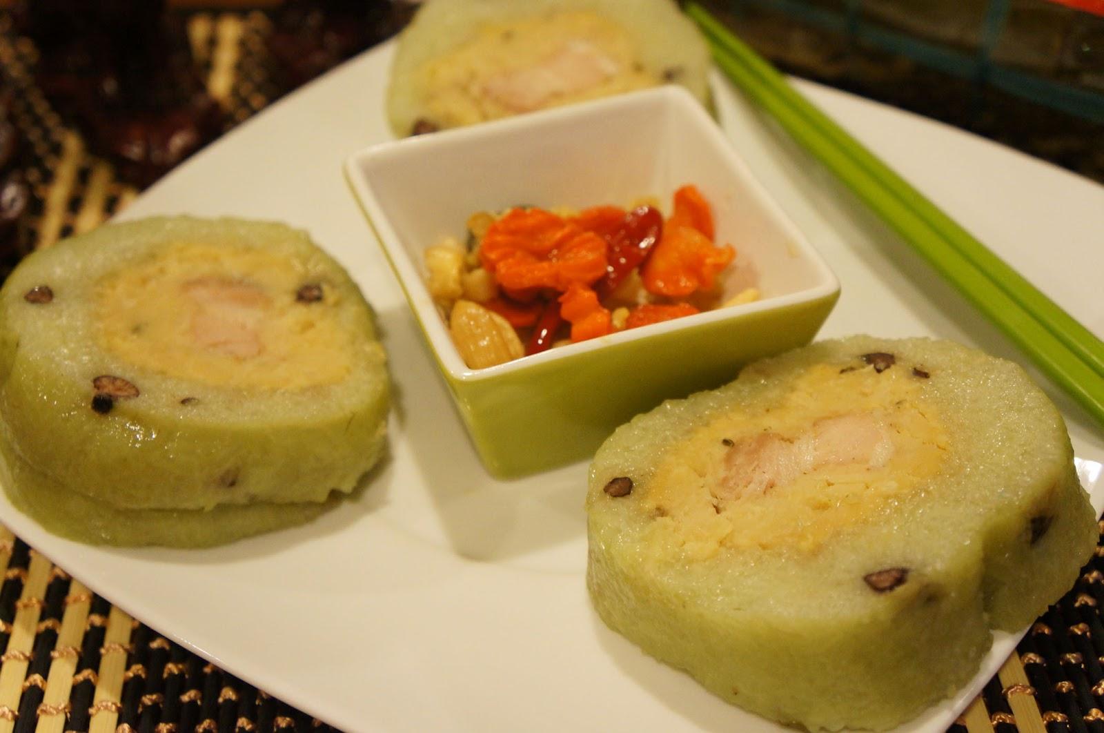 Gourmet by Kat: Banh Tet (Vietnamese rice cake)