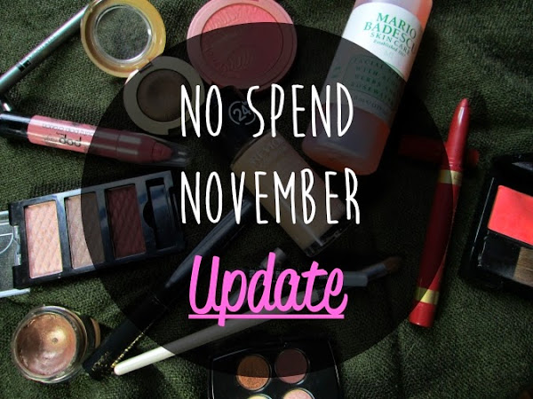 No Spend November: Update