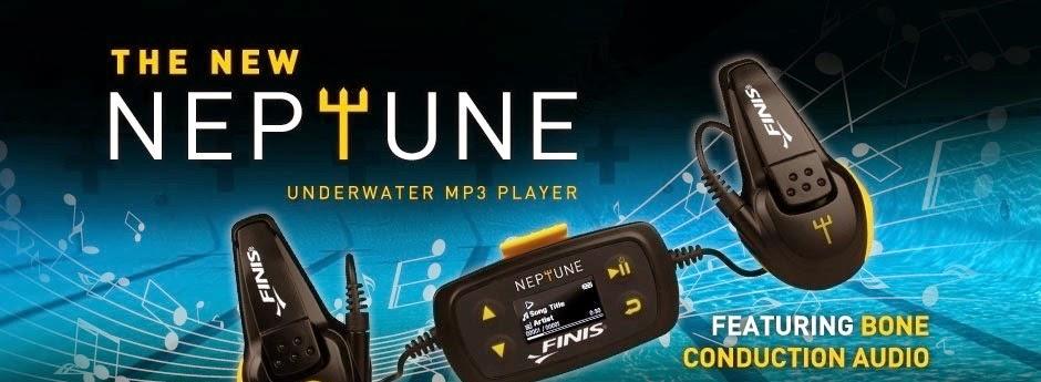 Lecteur MP3 natation : Finis Neptune