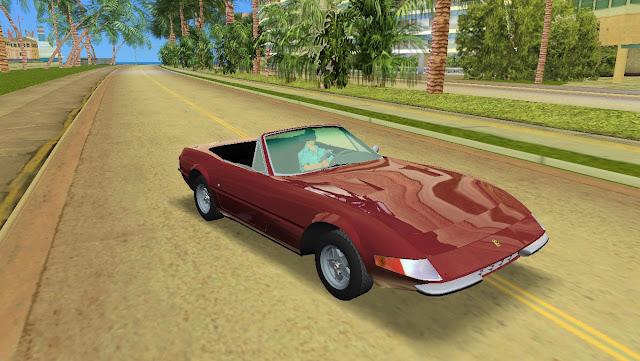 Ferrari 365 GTS4 1972 GTA Vice City