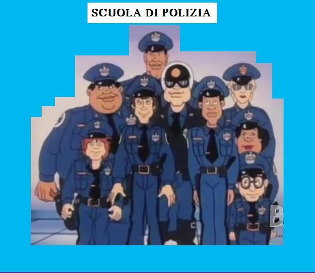 Scuola di polizia serie animata episodi