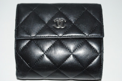 chanel+lambskin+wallet+black
