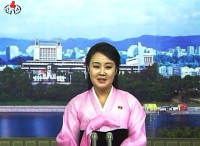 北韓新女主播