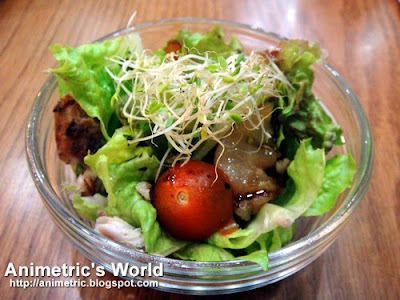 Century Bangus Salad with Caramelized Pear and Walnuts