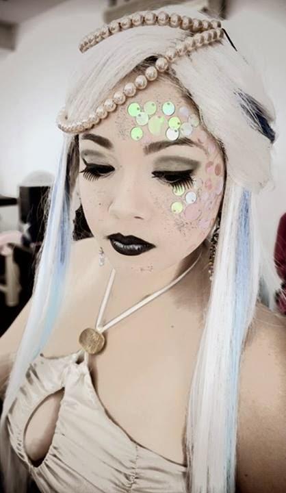 Lara Novales' Mermaid fantasy MUA by Lhan Peru Artistry