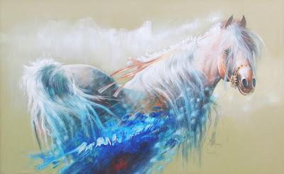 caballos-en-decorativa-al-oleo