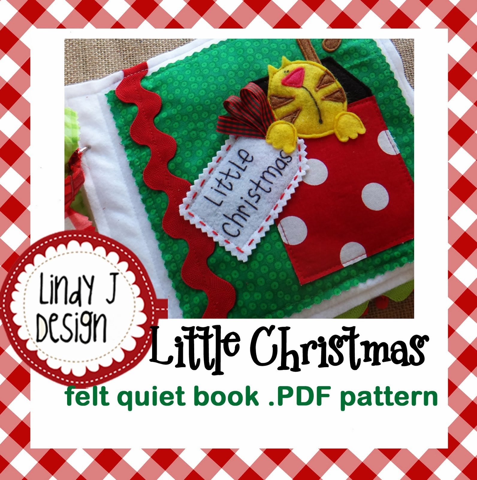 Little Christmas .PDF pattern