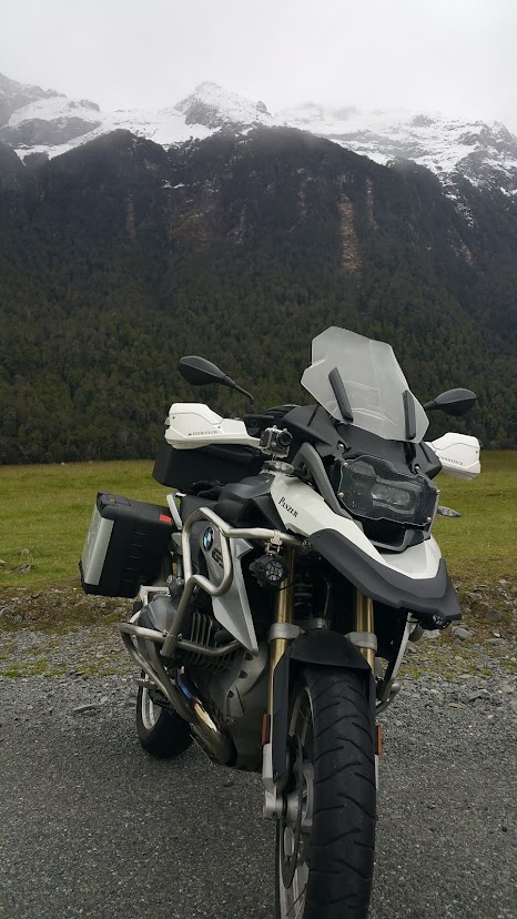 Bandit 1250 and BMW R1200GS LC mods