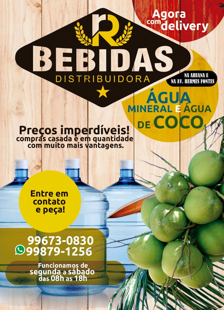 RR BEBIDAS DISTRIBUIDORA DE ÁGUA MINERAL E ÁGUA DE COCO.