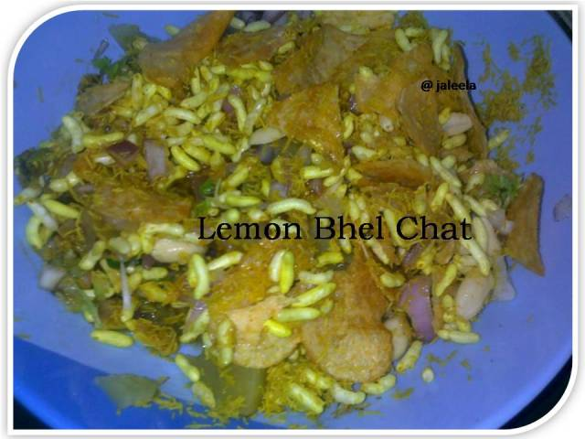 Cook book jaleela tangy lemon bhel chat with lays chips tangy lemon bhel chat with lays chips forumfinder Choice Image