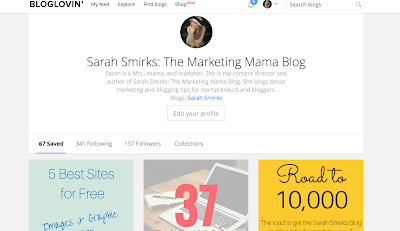 Instagram, Facebook, Bloglovin, Twitter, & website traffic growth strategy by Sarah Smirks.