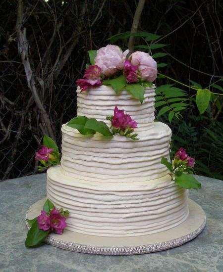 Buttercream Wedding Cake: Delicious Buttercream Wedding Cakes Ideas With Butter