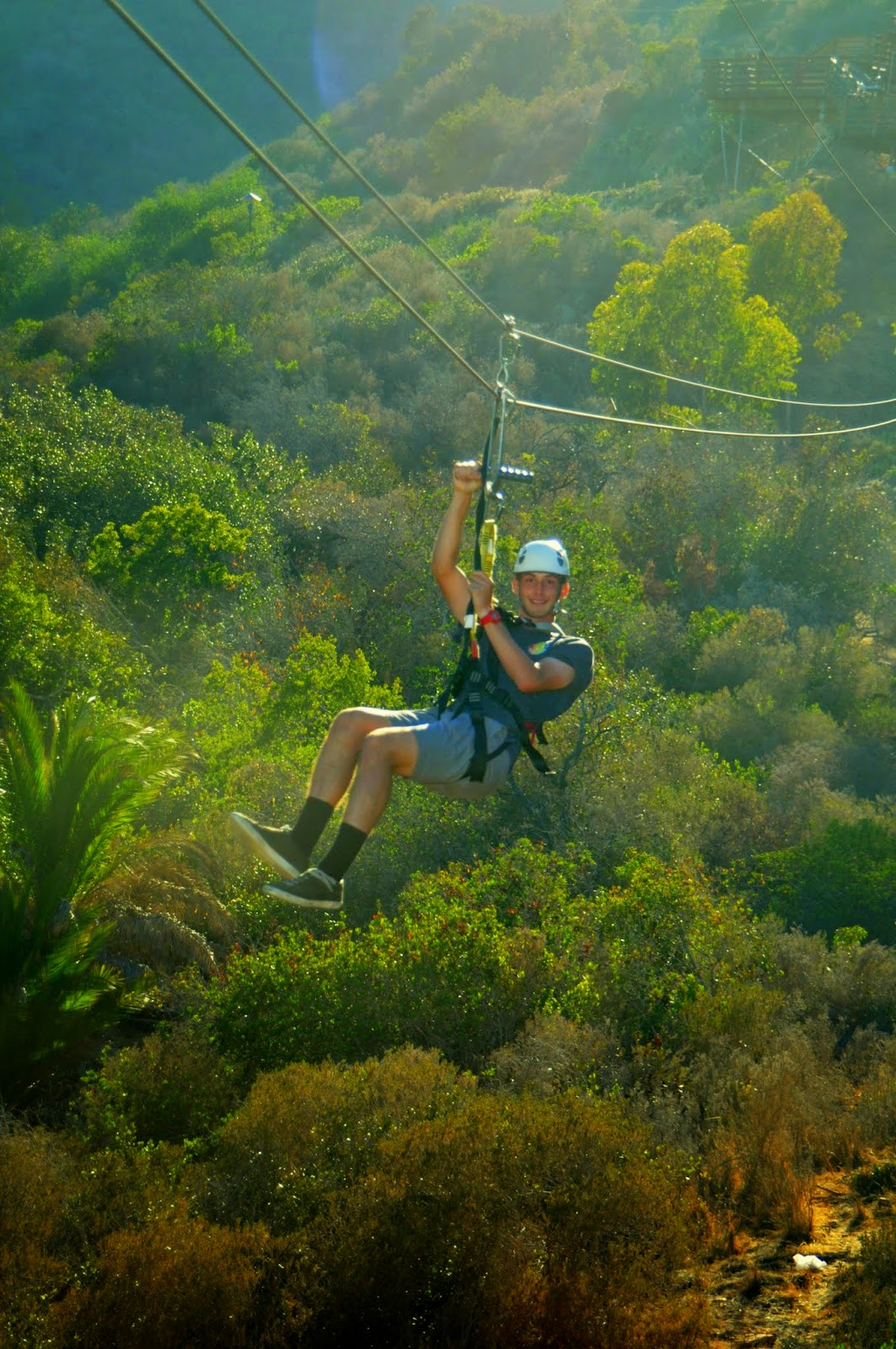 Santa Catalina Island, California, Zipline Eco Tour